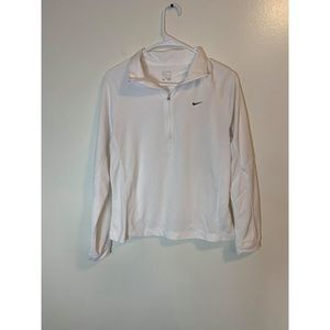nike pullover with zip polo collar neck